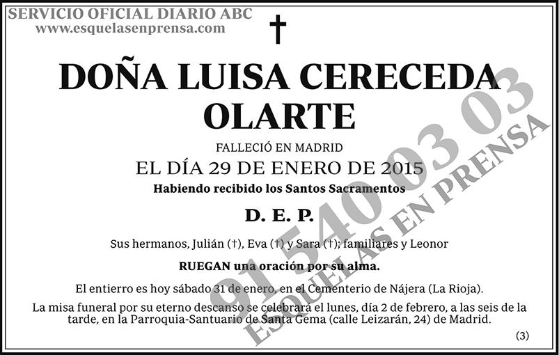 Luisa Cereceda Olarte